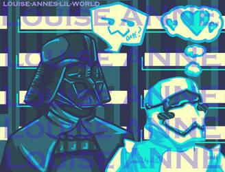 Vader X Stormtrooper 24601 by Idigoddpairings