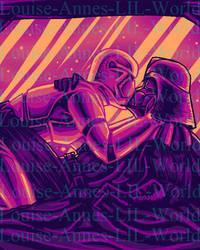 Vader X Six Sunset kisses by Idigoddpairings