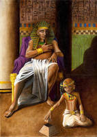 Egyptian pride by Sylent-Fantome