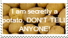 Potato Stamp by TheStampMachine