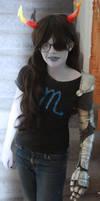 my Vriska Serket cosplay ::::) by Traumagician