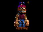Plushtrap - Nightmare Balloon Boy Fusion by JadeBladeGamer22