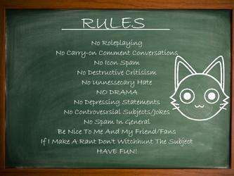 My DA Rules by JadeBladeGamer22