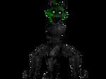 Monster Spooks/Blade (With legs) by JadeBladeGamer22