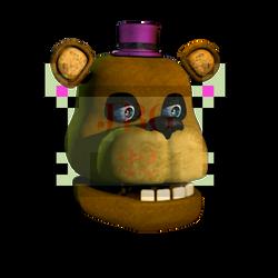 Fredbear Head Prediction by JadeBladeGamer22