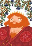 Marislav, king of chokeberry by Bard-the-zombie