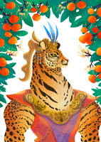 Bruno, king of oranges by Bard-the-zombie
