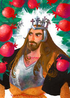 Alexander, king of pomegranates by Bard-the-zombie