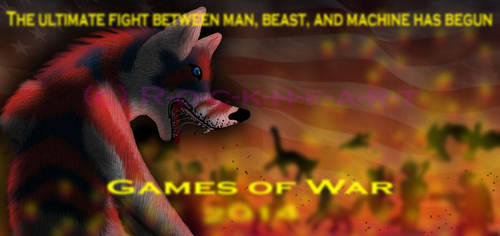 America Games of War Poster by R-o-c-k-h-e-a-r-t