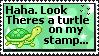 Turtle Stamp by Sky-Yoshi