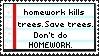 Homework Kills Stamp by Sky-Yoshi