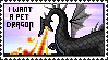 Pet Dragon Stamp by Sky-Yoshi