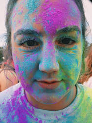 Color run  by hannahwillover
