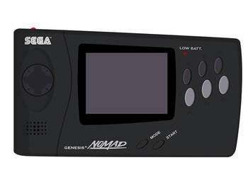 Sega Genesis Nomad by Judan