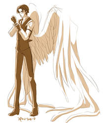 Supernatural+someone's angel by xanseviera