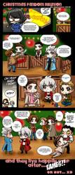 Christmas fandom reunion by xanseviera