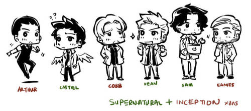 Supernatural+Inception- XD by xanseviera