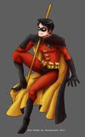 Batman+ Tim Drake by xanseviera
