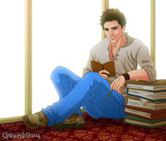 Uncharted+young Nate by xanseviera