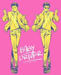 Baby Driver + No where to run to Baby by xanseviera