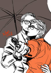 Back Again +Kingsman: The Golden Circle by xanseviera