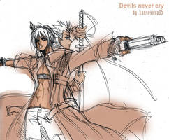 Dante x Vergil+kimi wo mamoru by xanseviera