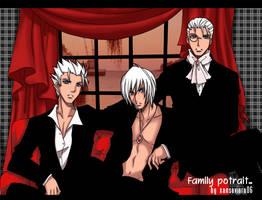 DMC+family potrait by xanseviera
