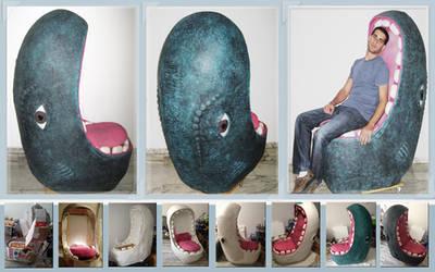 Monstrous design armchair by erez-mor