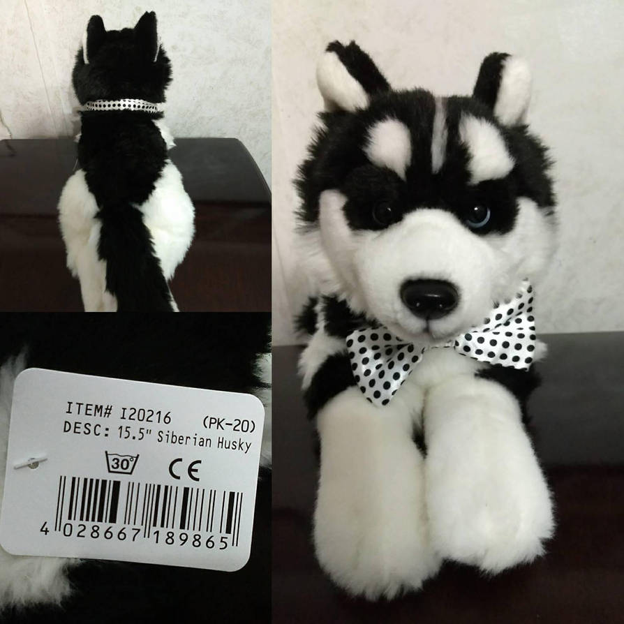Unitoys Black And White Husky By Webkinzgirl509 On Deviantart
