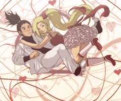 shikaino: valentines by Nishi06