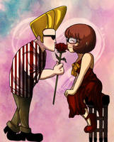 Johnny x Velma by Nishi06