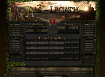 FantasyGame Interface ForSale by phex2005
