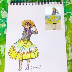 Look of the Day 2/100 by Gloewen-Art