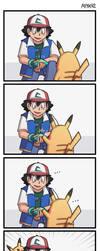 Pikachu Evolves by ayyk92