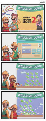 Mario Maker 2 by ayyk92