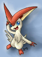 Victini the New Legend by Hawkein