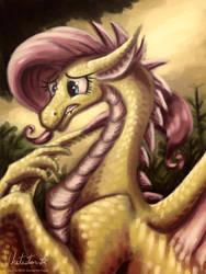 Dragonshy by Whitestar1802
