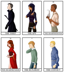 Six Of Crows Squad by AngelBellator