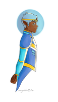 Altean Lance by AngelBellator