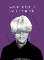We purple you Taehyung by AngelBellator