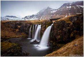 Iceland Waterfall by Relderson