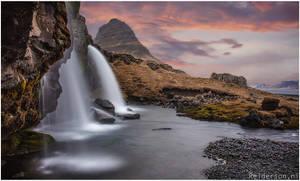 Snaefellsnes watefall iceland by Relderson