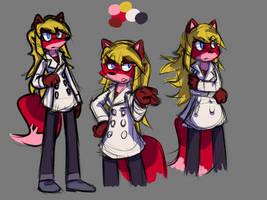 Character Idea, Fox by DarwinTFish