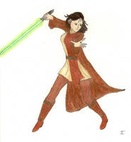 Bryony Thuvell, Jedi Exile by songofamazon