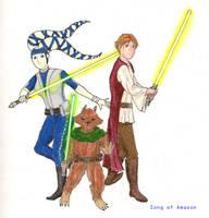 Secret Agent Jedi by songofamazon