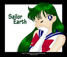 Sailor Earth - Request by songofamazon