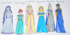 Ladies of the Earth Kingdom by songofamazon