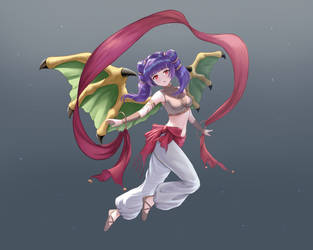 I draw Myrrh cosplay Tethys [fanArt] by dakkalot
