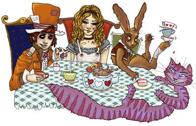 Wonky Tea Party by missyC