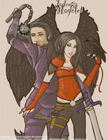 Jaden and Magelet by missyC